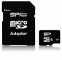 Silicon Power microSDHC 4GB  (class 4)