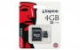 Kingston microSDHC 4GB  (class 4)