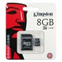 Kingston microSDHC 8GB  (class 4)