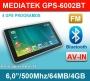 "GPS Navigacija 6,0"" Mediatek 6002BT"